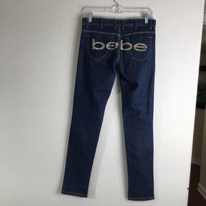 BEBE Skinny Kitty Jeans
